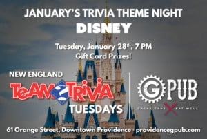 Trivia Tuesday: Disney Edition @ Providence GPub | Providence | Rhode Island | United States