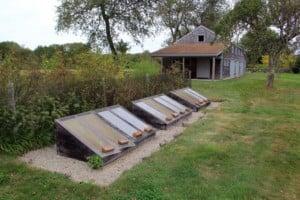 Gardener's Roundtable: Cold Frames @ Blithewold Mansion, Gardens, and Arboretum   Bristol   Rhode Island   United States