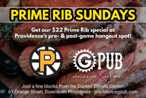 Prime Rib Sundays at GPub @ Providence GPub | Providence | Rhode Island | United States
