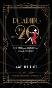 The Miriam Hospital Gala and Auction - Roaring into the 20's @ WaterFire Arts Center | Providence | Rhode Island | United States