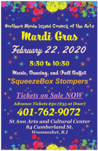 Mardi Gras Ball @ St Ann Arts and Cultural Center | Woonsocket | Rhode Island | United States