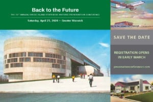 Back to the Future/RI Preservation Conference @ CCRI Knight Campus | Warwick | Rhode Island | United States