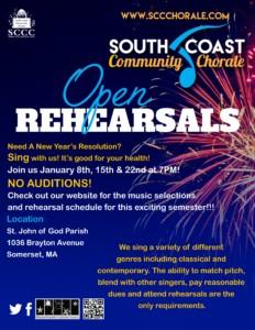 Open Rehearsal for the 2020 Spring Concert @ St John of God Parish | Somerset | Massachusetts | United States