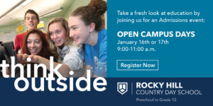 Rocky Hill Country Day School Open Campus Days @ Rocky Hill Country Day School | East Greenwich | Rhode Island | United States