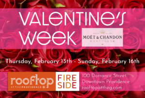Valentine's Week at The Rooftop @ Rooftop at the Providence G | Providence | Rhode Island | United States