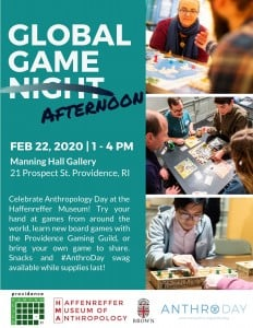 Global Game Afternoon @ Haffenreffer Museum of Anthropology   Providence   Rhode Island   United States
