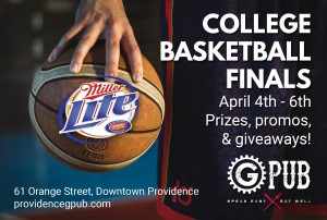 College Basketball Finals @ GPub | Providence | Rhode Island | United States