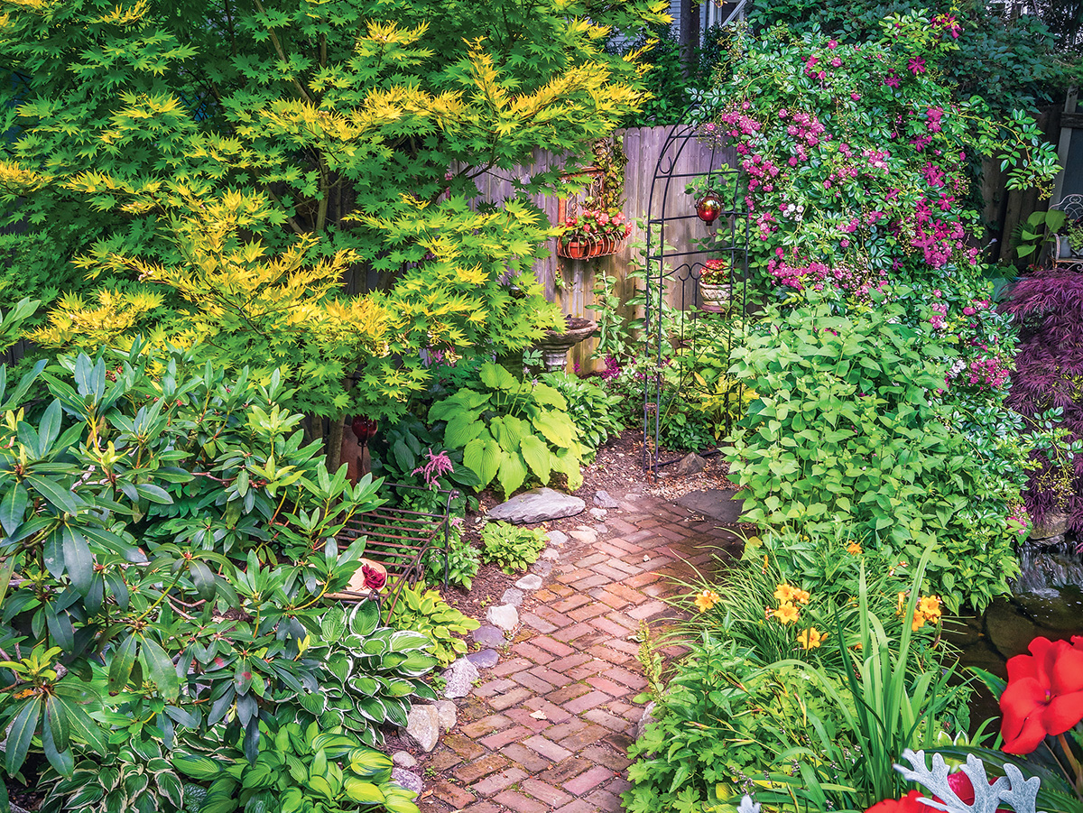 Garden Inspiration Secrets Of The Shade Rhode Island Monthly