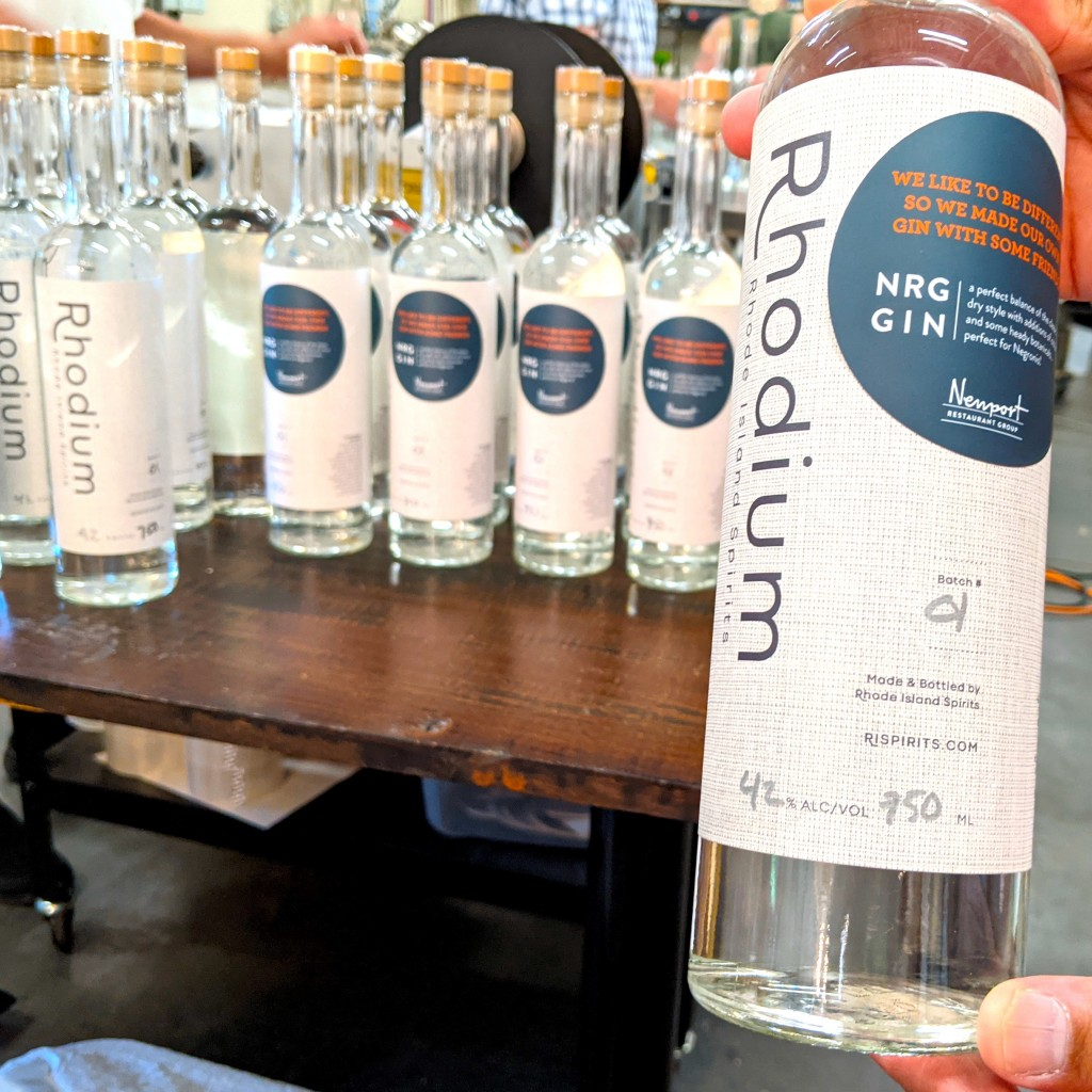 Nrg Rhodium Gin Bottles