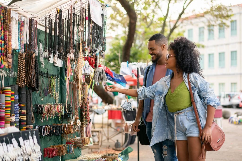 Handicraft Market In Olinda, Pernambuco