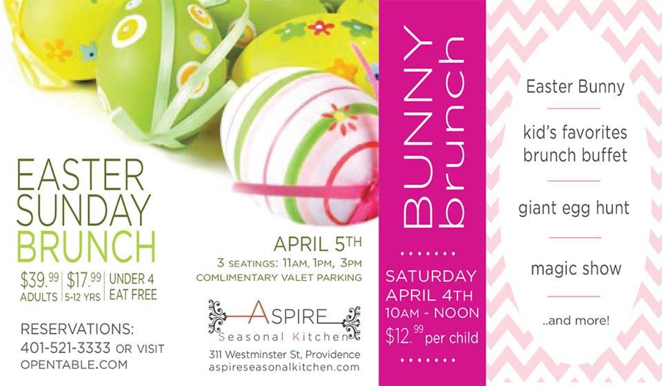 17 restaurants serving easter brunch rhode island monthly for Easter brunch restaurant menus