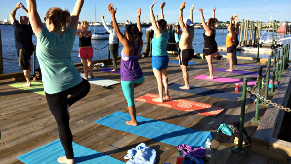 Inner Light Beach Yoga June 20 Aug 29 Tuesdays 7 8 Pm Saturdays 830 930 Am Drop In 15 Five Class Pass 50 Eastons First