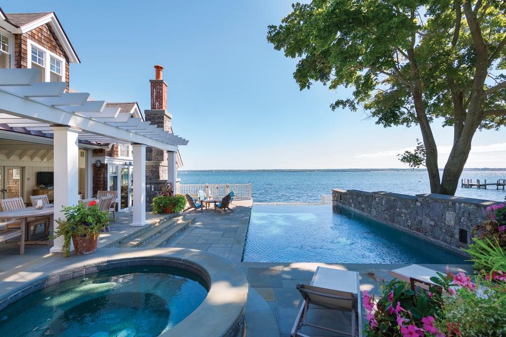 Jump In Beautiful Backyard Pools In Rhode Island Rhode Island Monthly