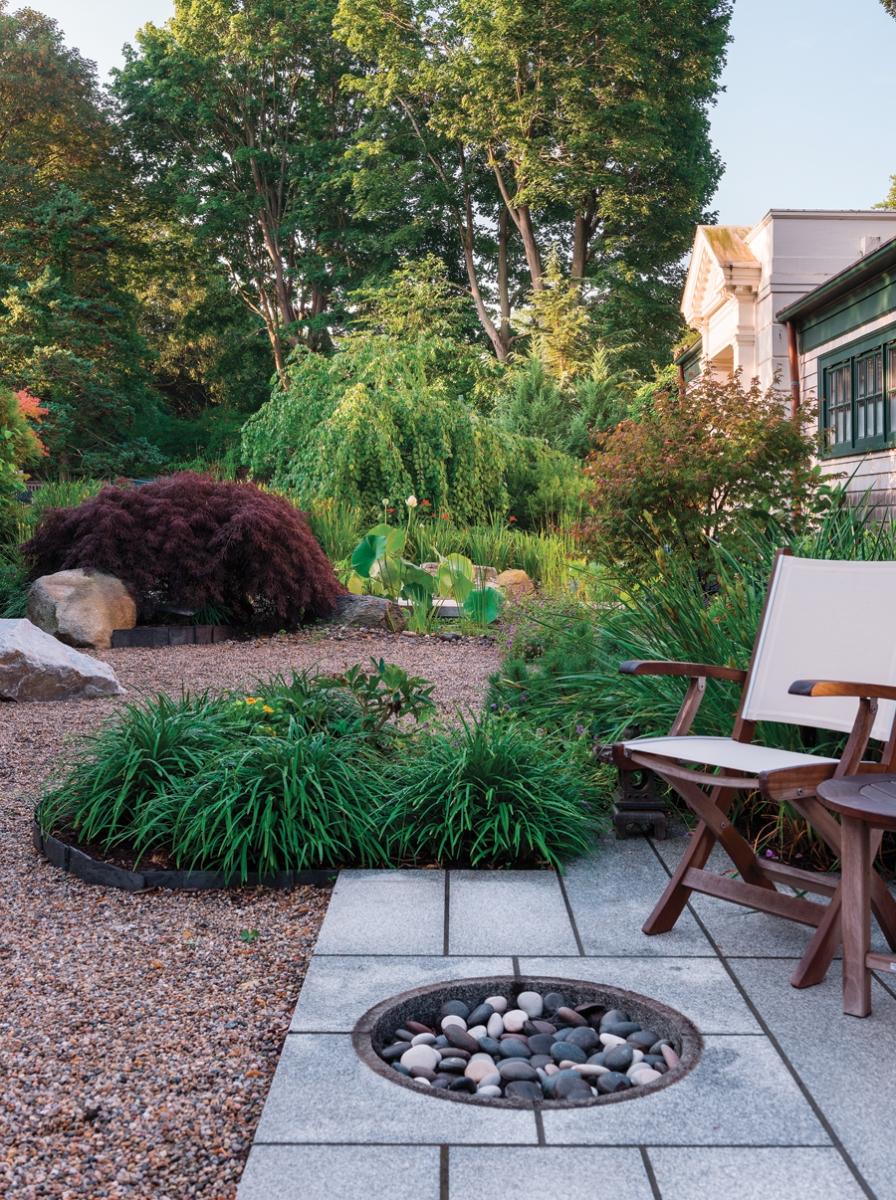 Experience Zen in this Tranquil Garden - Rhode Island Monthly on door gym, door pergola, door art garden, door puzzle, door classic garden,