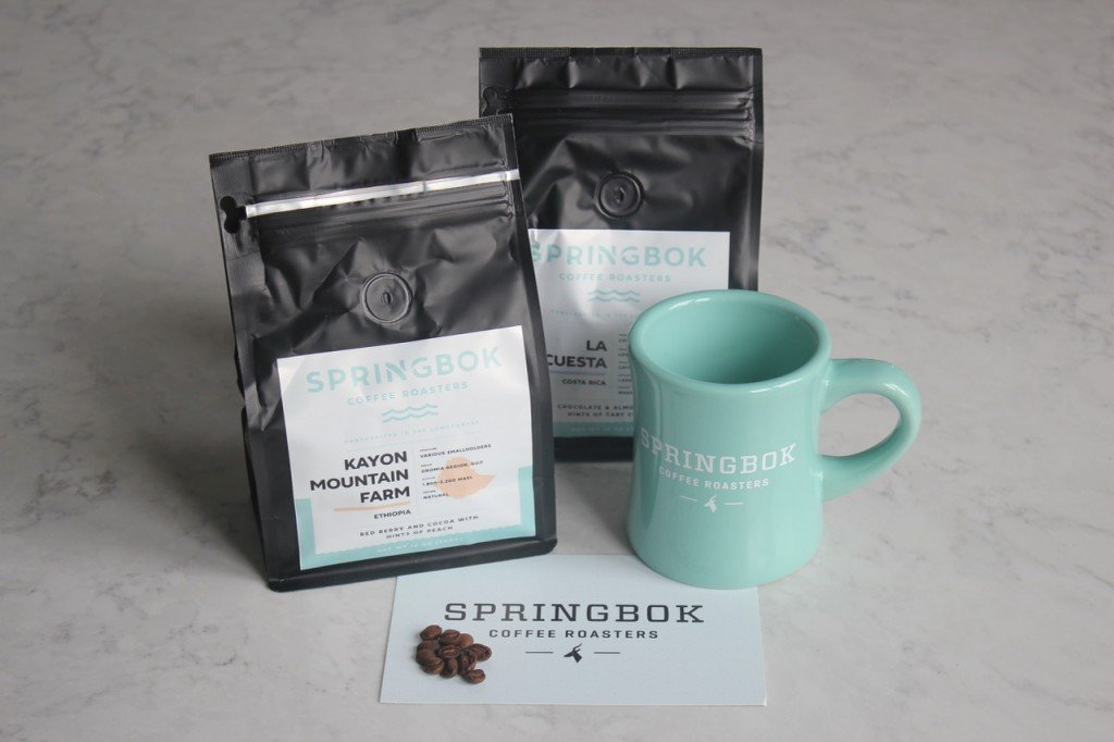Start your day with Springbrook coffee