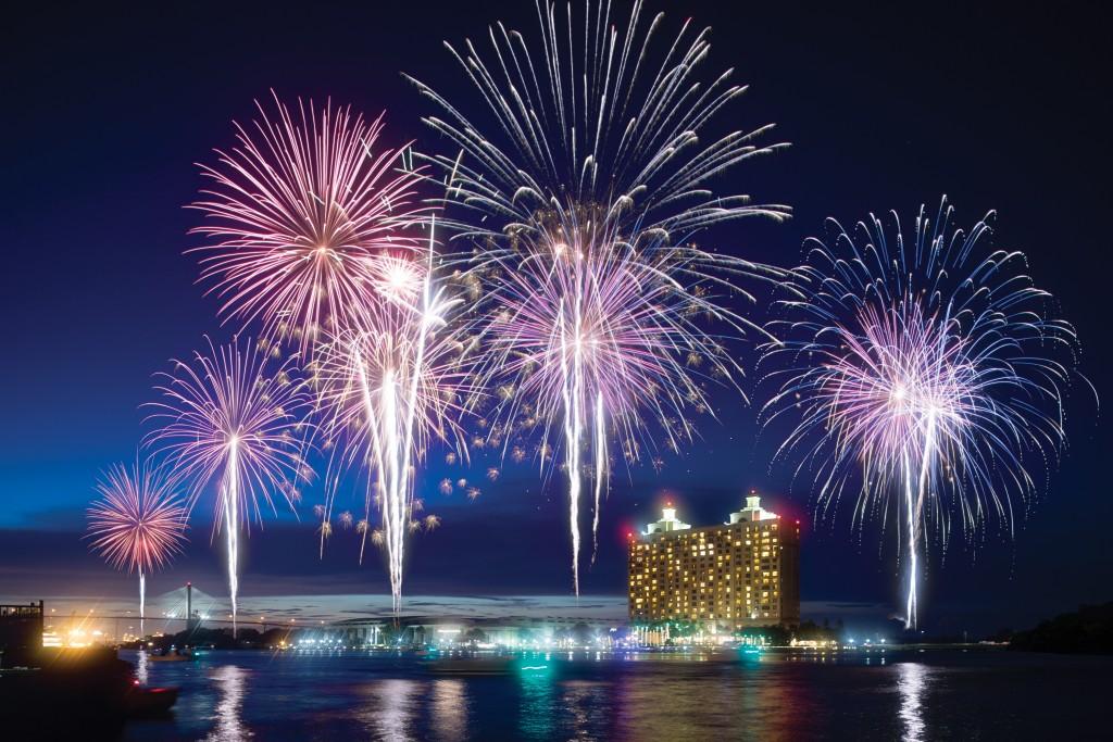 Fireworks Sean Setters