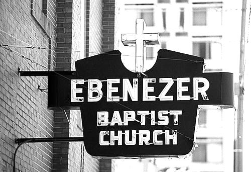 Ebenezerbaptistsignbw
