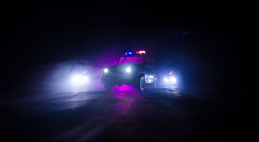 Bigstock Speed Lighting Of Police Car I 192654148