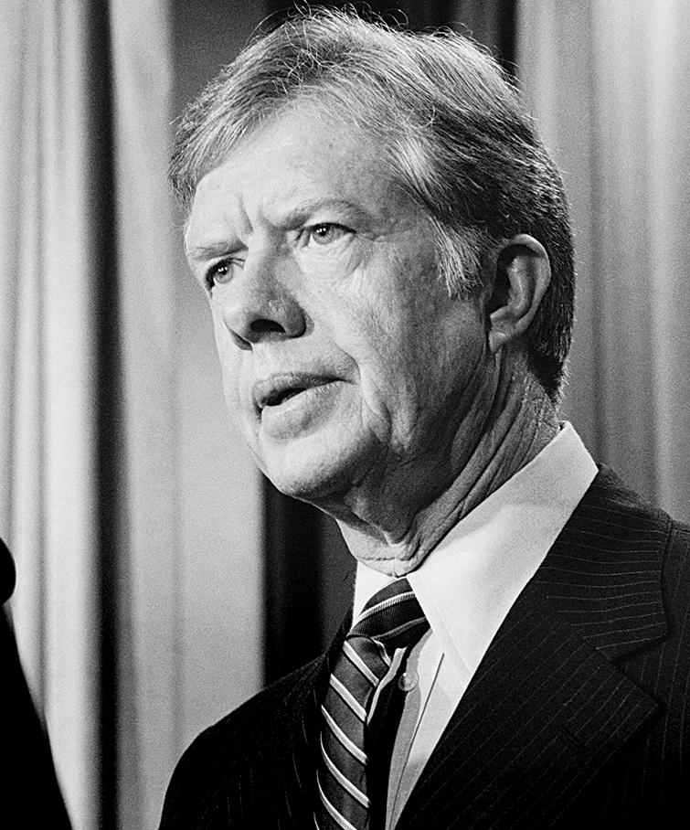 Jimmy Carter April 1980