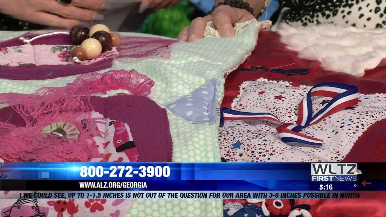 Alzheimer S Association Offers Fidget Blankets For Those Suffering From Alzheimer S Dementia Wltz