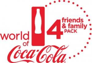 World of Coca-Cola Friends and Family Four-Pack Offer @ World of Coca-Cola