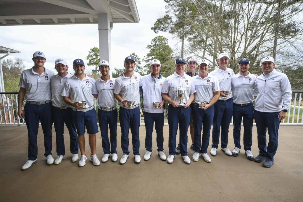 Tiger Invitational Golf Tournament Auburn Wins