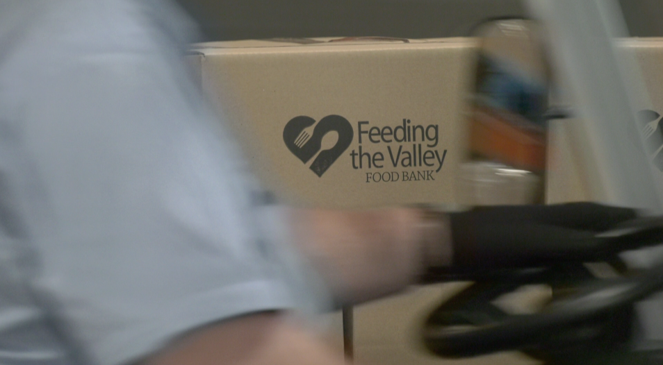 Feeding The Valley Prepares Food For Mobile Pantries