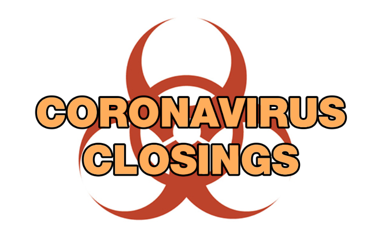 Coronavirus Closings