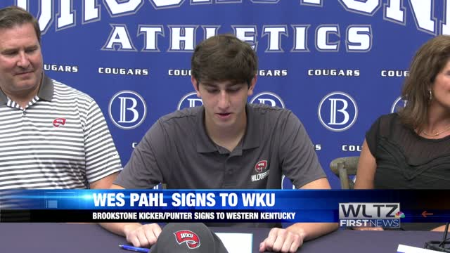 Wes Pahl Signs Western Kentucky