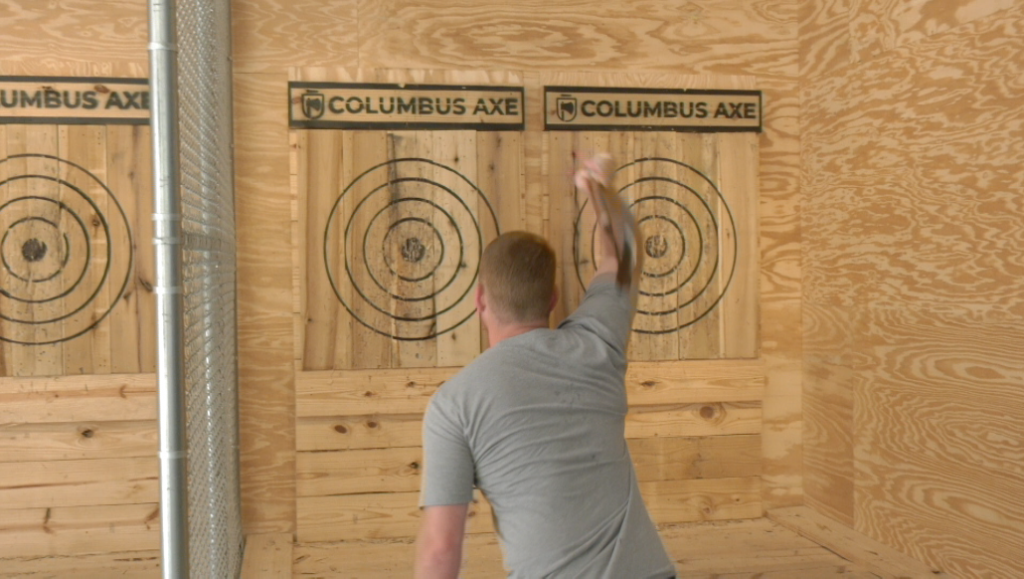 Targeting Stress Relief At Columbus Axe