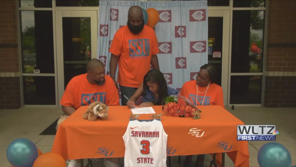 Diamond Mcgilberry Signing Savannah State Wbb