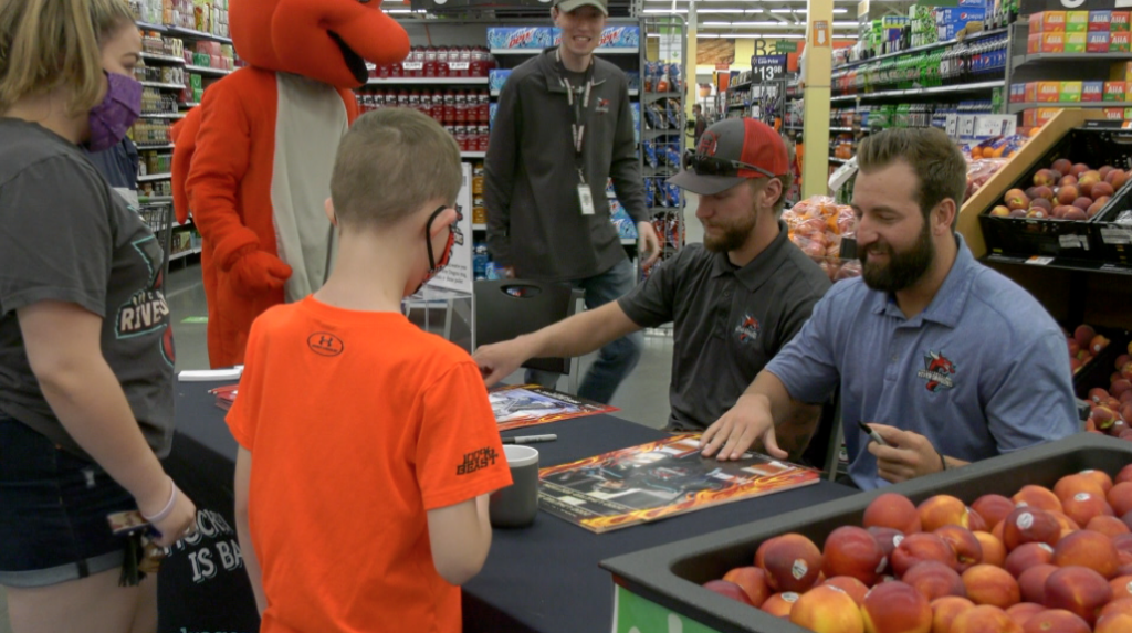 River Dragons Team Up With Local Walmart To Raise Money For Children's Miracle Network
