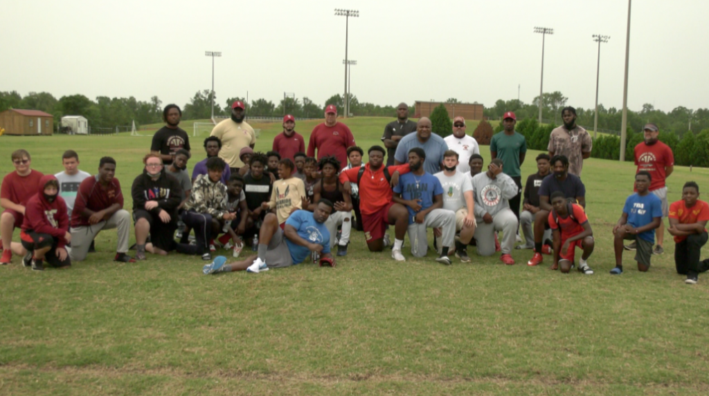 Former Auburn And Nfl Players Visit Russell County Football June 26