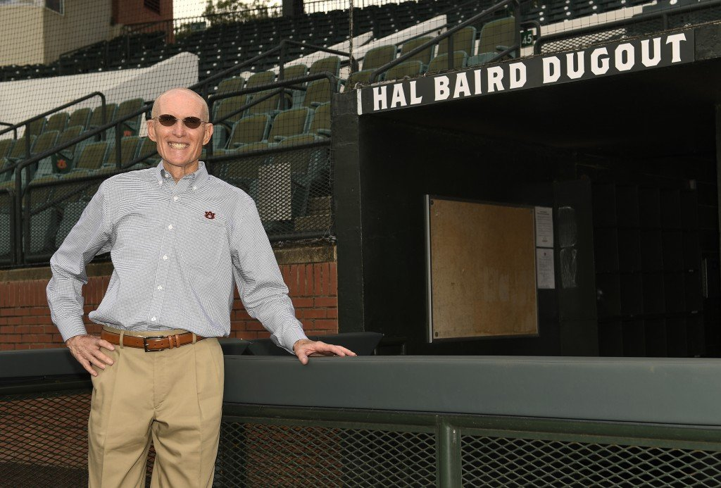 Hal Baird Dugout Dedication