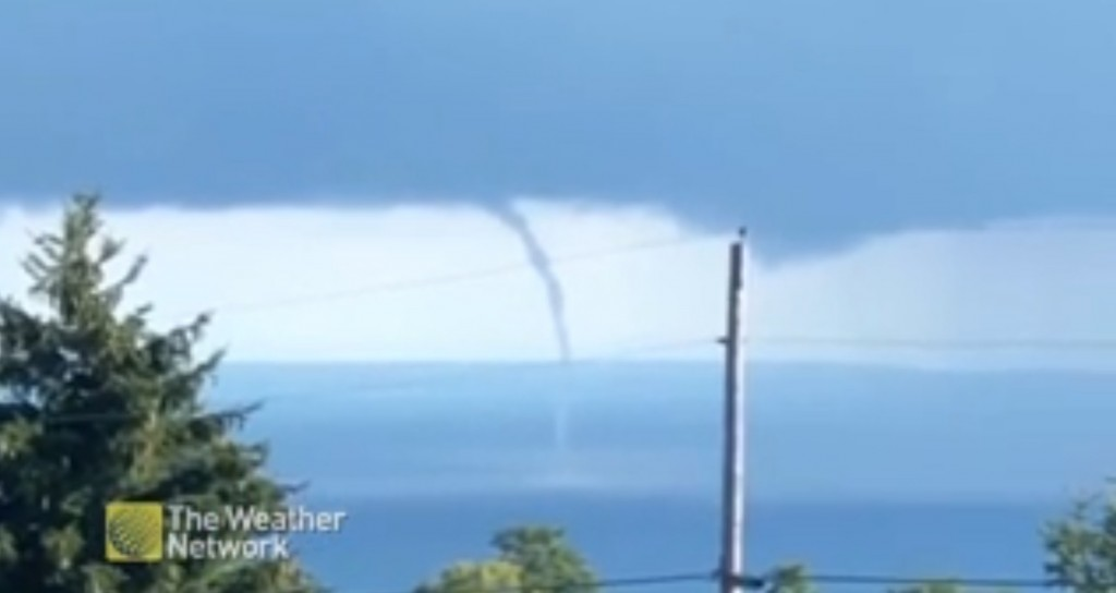 Waterspout Canada