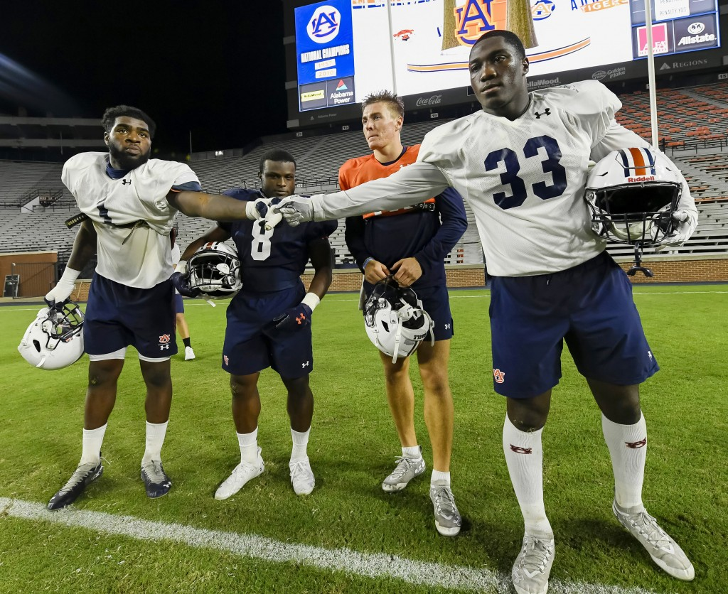 Nix Among Four Auburn Team Captains For 2020 Season