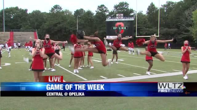 Opelika Cheerleaders Live Shot Gotw Versus Central
