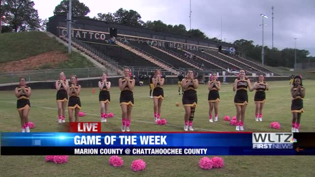 Chattahoochee County Panthers Cheerleaders Live Performance