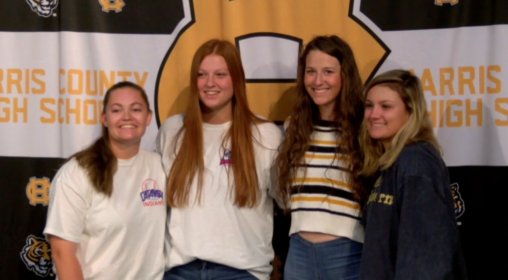 Harris County Softball Signings