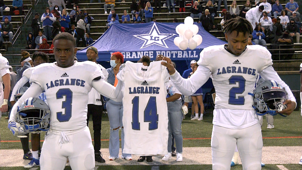 One Town, One Family; Rivals Lagrange And Troup Unite To Remember No. 14 Trae Cole
